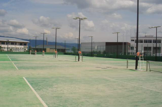 長野県岡谷市スポーツ施設